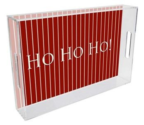 Christmas Lucite Tray