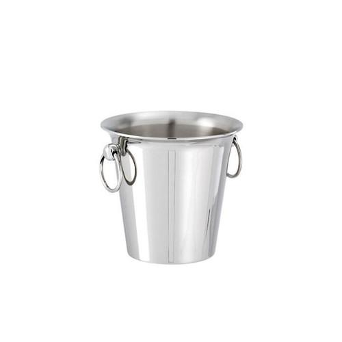 Elite Stainless Steel Ice bucket, 4 7/8 x 5 7/8 inch