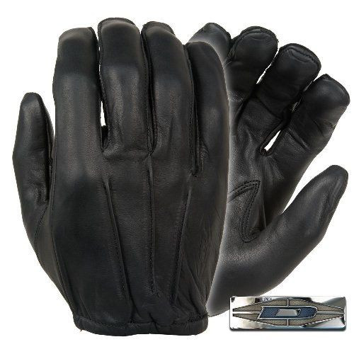 Dyna-Thin Unlined Leather Gloves w/ Short Cuff