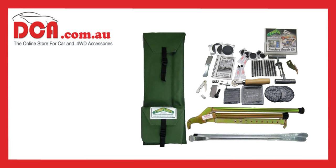 Tyrepliers Complete 4WD Tyre Repair Kit - KIT100