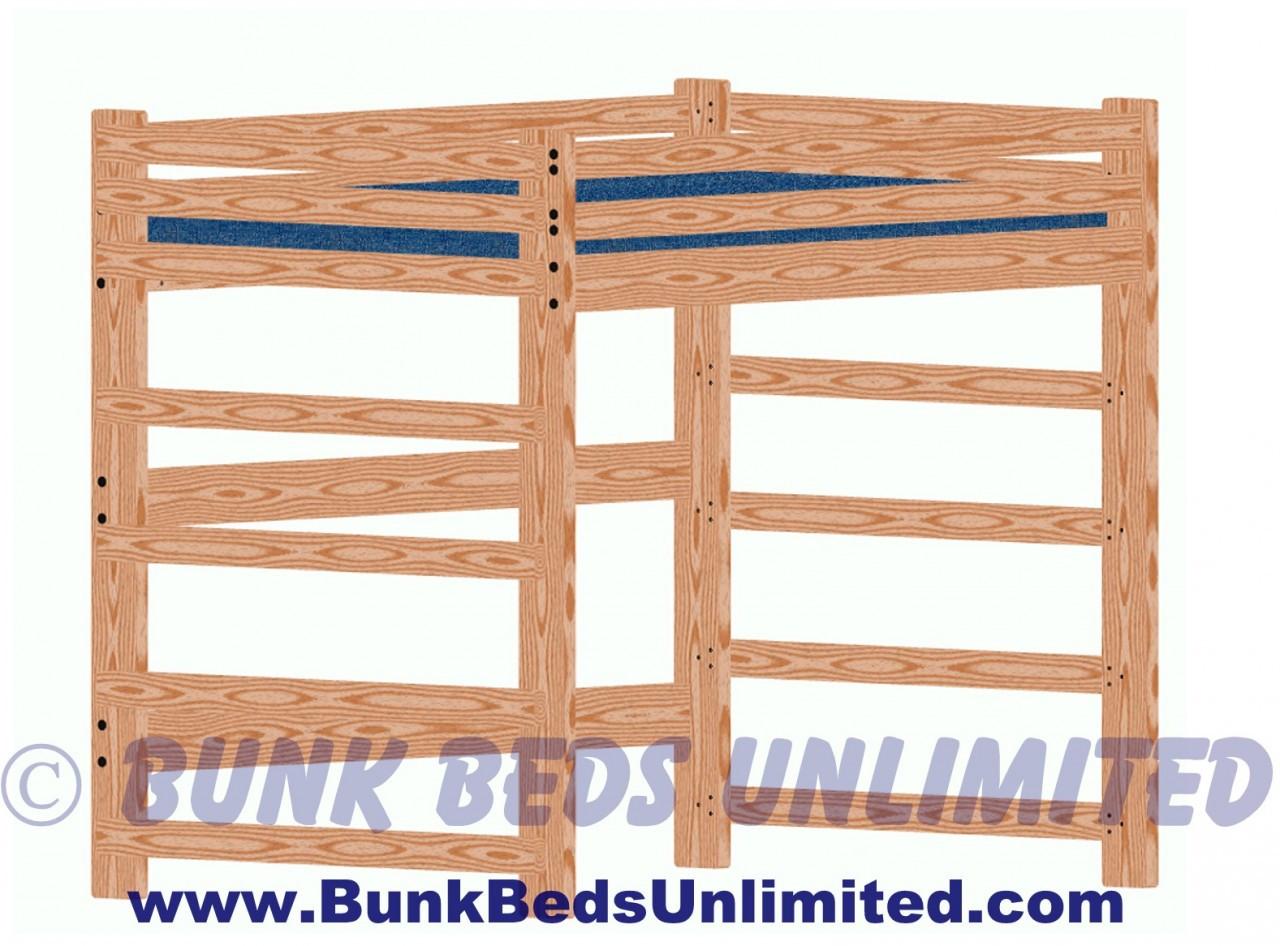 Hardware Kit For Loft Bed Full Size Tall