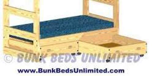Drawers for Bunk Bed or Trundle