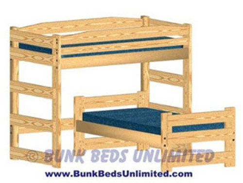 Bunk Bed L-Shape