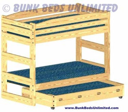 Hardware Kit for Bunk Bed Stackable Twin over Twin with Trundle Bed or Large Storage Drawers