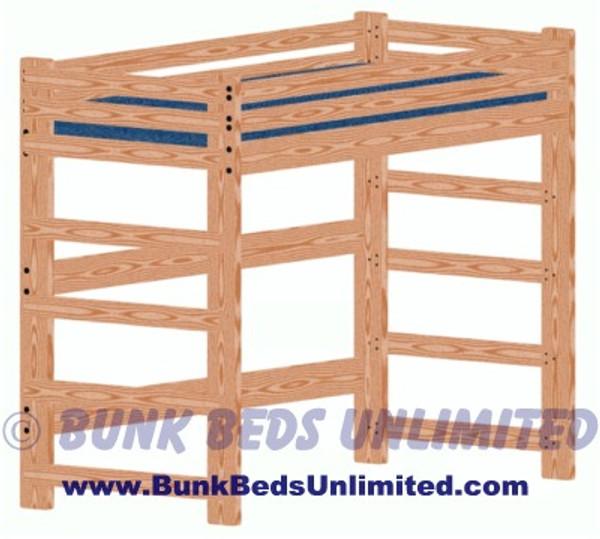 Loft Bed Plan Extra Long Twin Mattress