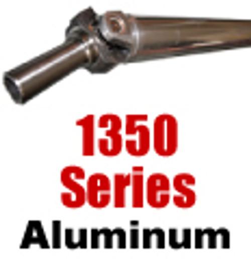 "1350 Aluminum Drive Shaft, 3.5"", over 57"""