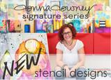 NEW: Donna Downey Stencils