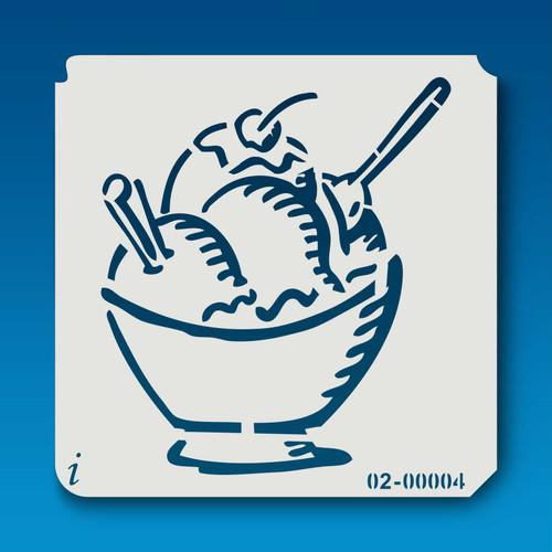 02-00004 Ice Cream Bowl