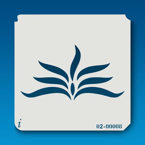 02-00008 Fern Stencil