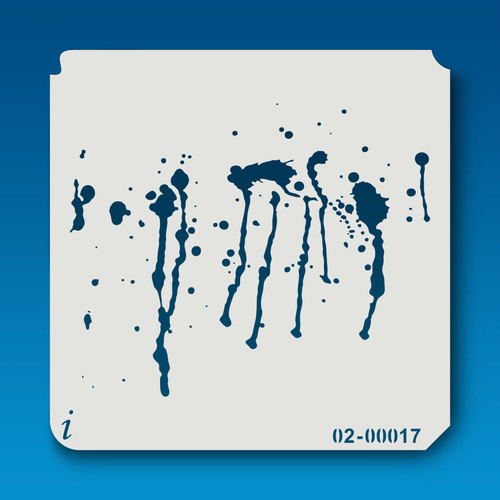 02-00017 Paint Splatter Stencil