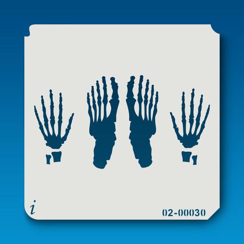 02-00030 Hands & Feet Bones
