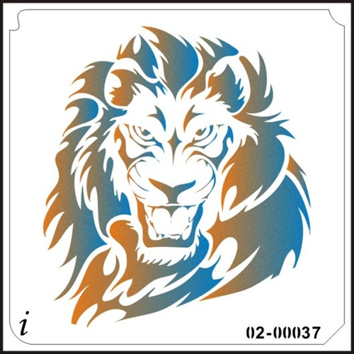 02-00037  Lion Head
