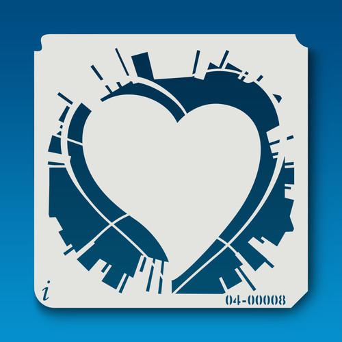 04-00008 Graffiti Heart
