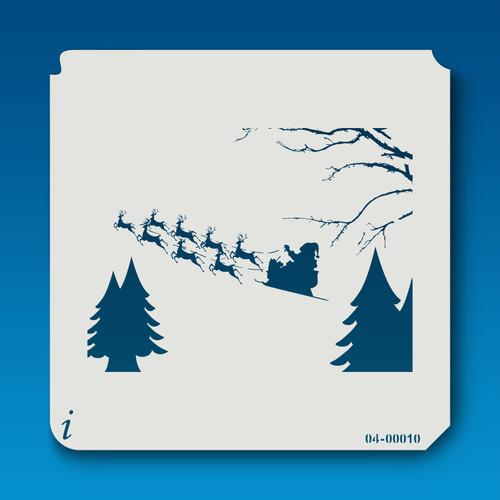 04-00010 Flying Santa