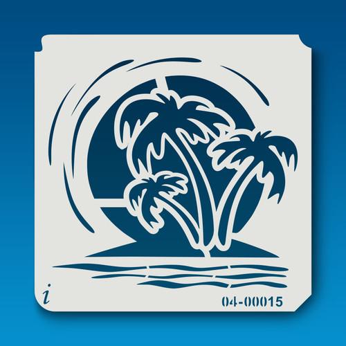 04-00015 Palm Tree Island