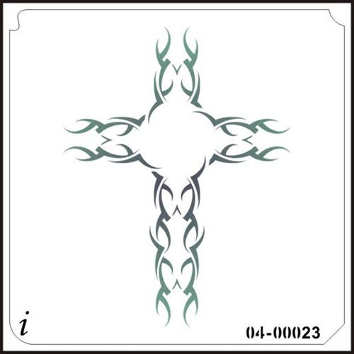 04-00023 Tribal Cross