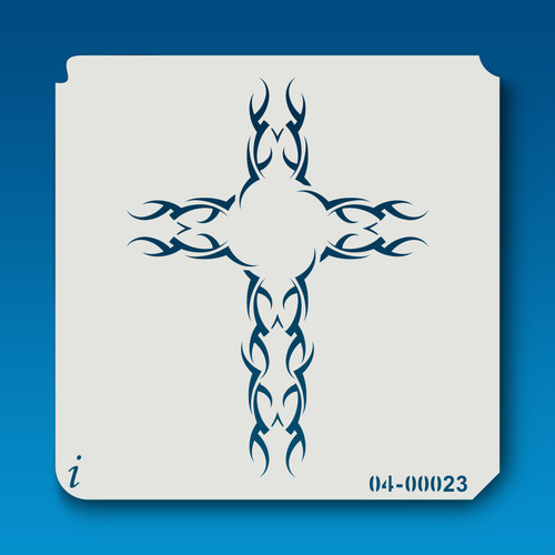 04-00023 Tribal Cross