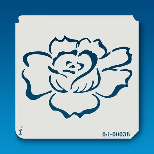 04-00038 Blooming Flower Stencil