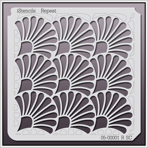 05-00001 R SC Shell Repeat Stencil