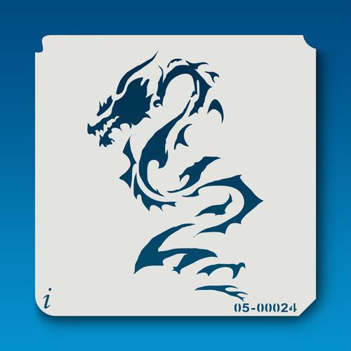05-00024 dragon stencil