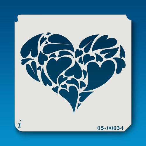 05-00034 Heart of Hearts Stencil