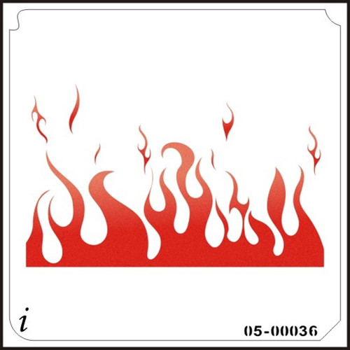 05-00036 Flame Stenciling