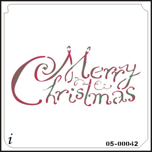 05-00042 Merry Christmas