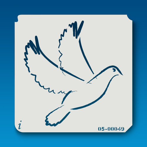 05-00049 Dove Bird Stencil