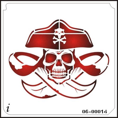 06-00014 Skull Pirate