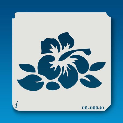 06-00040 Exotic Flower Stencil
