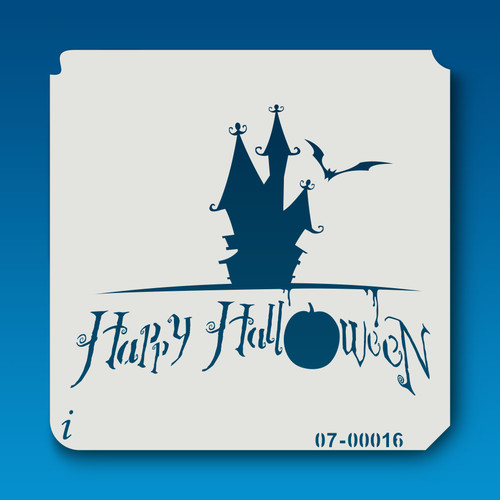 07-00016 Haunted House Happy Halloween
