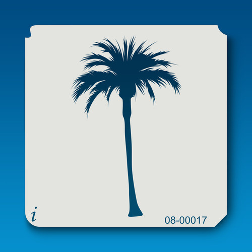 08-00017 palm tree stencil