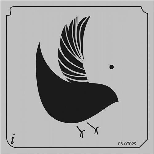 08-00029 Partridge Bird Stencil