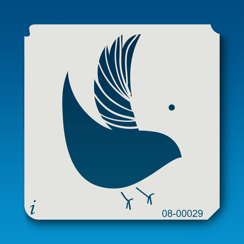 08-00029 Partridge Bird Stencil