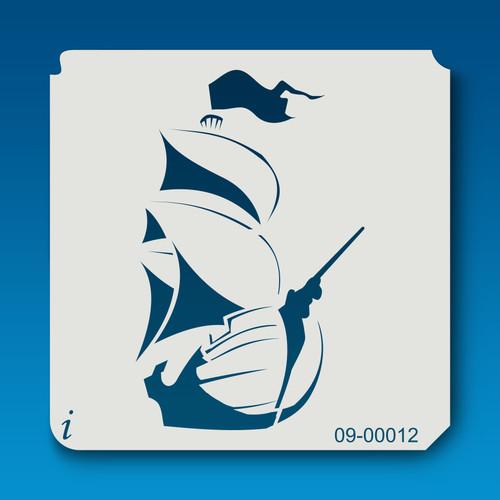 09-00012 Sailing Ship