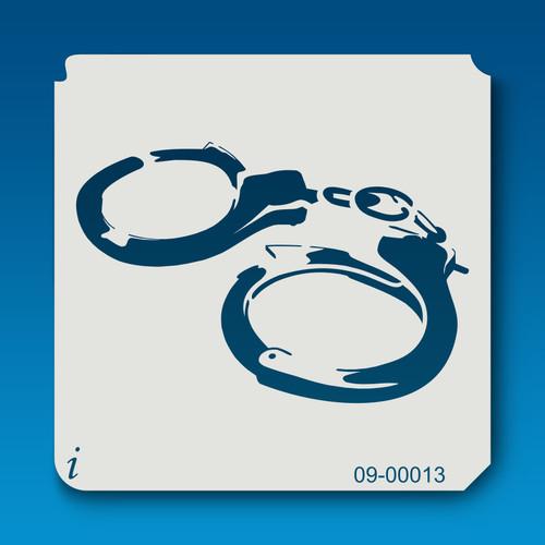09-00013 Handcuffs Stencil
