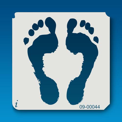 09-00044 Bare Footprint