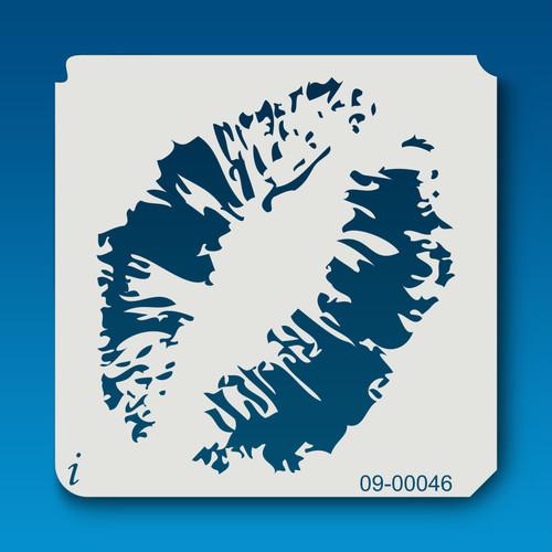 09-00046 Lip Print Stencil