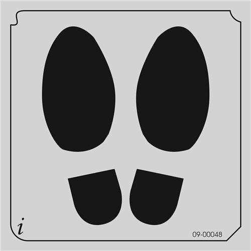 09-00048 Shoe Print