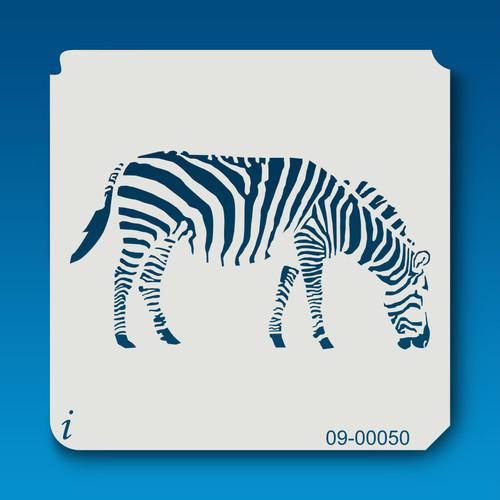 09-00050 Zebra Animal Stencil
