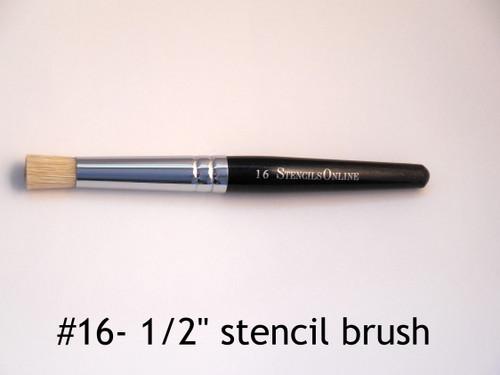 "#16  1/2""- Stencil Brush"