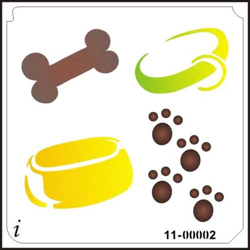 11-00002 Dog Lover's Decorative Stencil