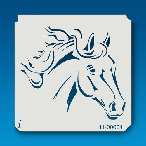 11-00004 Horse Head Stencil