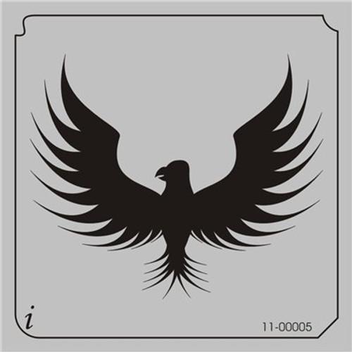 11-00005 Eagle Bird Stencil
