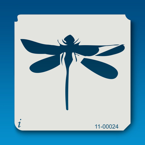 11-00024 Dragonfly Stencil Template