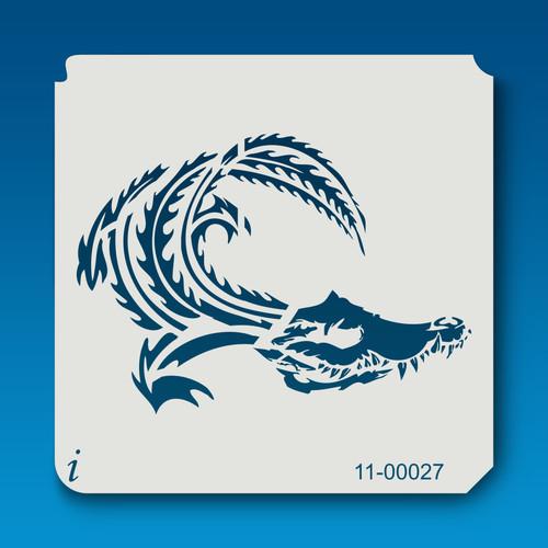 11-00027 Crocs and Gators1 Stencil