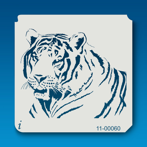 11-00060 Tiger Tattoo Stencil