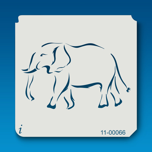 11-00066 Elephant Safari Animal Stencil