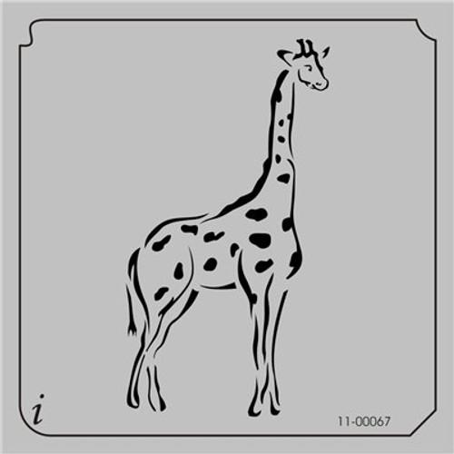 11-00067 Giraffe Safari Animal Stencil