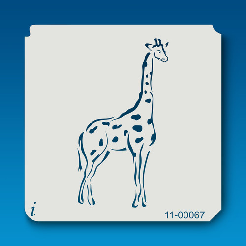 11-00067 Giraffe Safari Animal Stencil